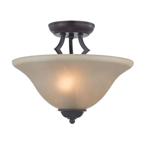 oil rubbed bronze ceiling fan with light flush mount titan lighting kingston 2 light oil rubbed bronze ceiling