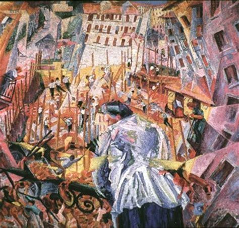 Umberto Boccioni  Sein Werk  Moderne Kunst Verstehen