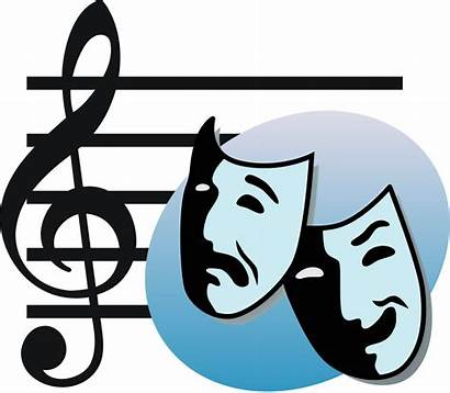 Masks Clipart Theater Theatre Musical Clipartmag