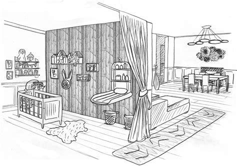 dessin chambre bebe une chambre dessin chaios com