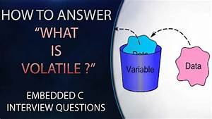 C How To : how to answer for what is volatile embedded c interview ~ A.2002-acura-tl-radio.info Haus und Dekorationen