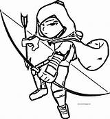 Coloring Archer Contest Character Pages Wecoloringpage sketch template