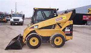 Caterpillar 272c Skid Steer Loader Red Electrical And
