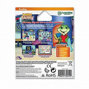 leapfrog letter factory learning game works with leappad With letter factory toy