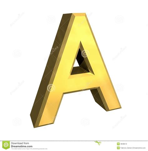 gold alphabet 3d letters stock photography image 29339742 gold 3d letter a stock photography image 3848572 75864