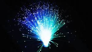 Fiber Optic Light Decoration - YouTube