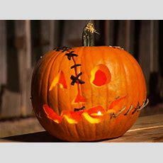 Halloween Pumpkin Carving Frankenstein Jack O' Lantern