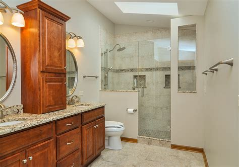 exciting walk  shower ideas    bathroom