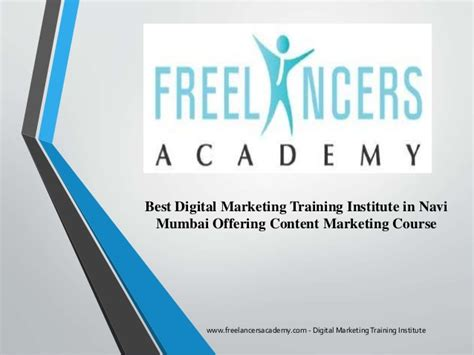 Content Marketing Course by Content Marketing Course Freelancers Academy