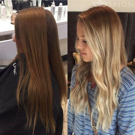 Brunette To Blonde Hair By Jordynfellesalon Color