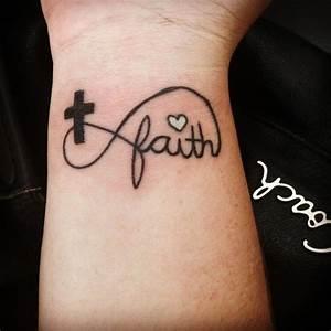 My infinity faith cross tattoo!! | I'm diggin this ...