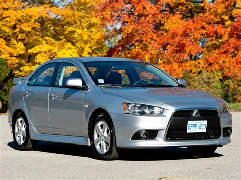 Mitsubishi Lancer Technical Specifications And Fuel Economy
