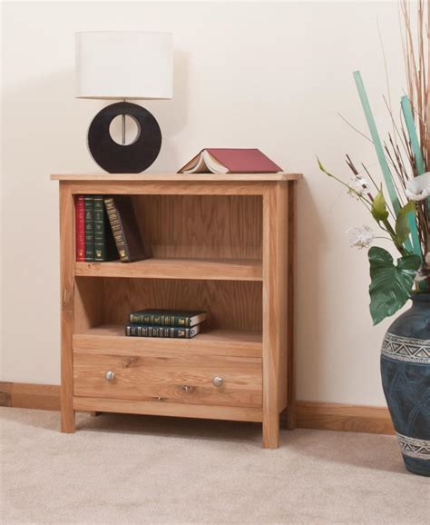 Small Bookcase With Drawers by Oak Living And Dining Room