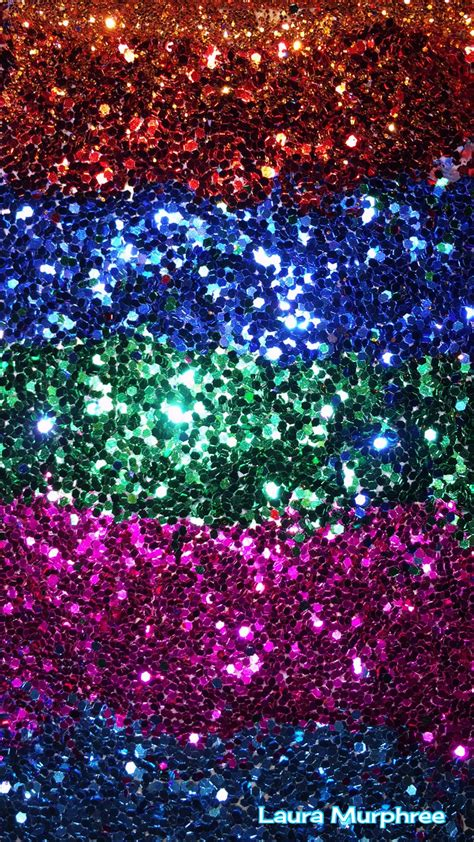 Glitter phone wallpaper colorful sparkle background ...