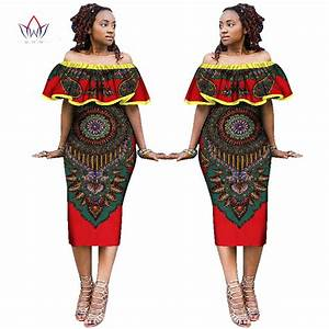 2017 African Dresses for Women African Style Print Plus ...