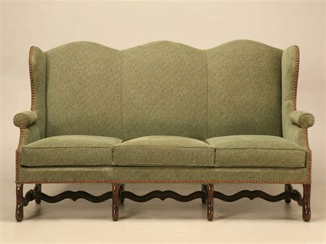 Sofa Settee Or by Vintage Os De Mouton Style Small Sofa Or Settee For