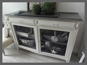 les 25 meilleures idees de la categorie bahut industriel With good meubles style campagne chic 2 buffet industriel campagne chic micheli design