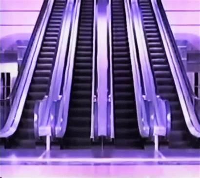 Escalator Stairs Giphy Loop Death Floor Mum