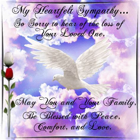 heartfelt blessings  sympathy condolences ecards