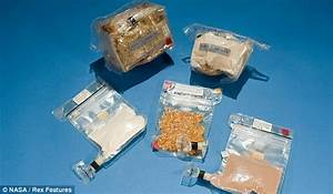 Fine dining in space! Astronaut food travels light years ...