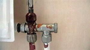 conseils pour reparer une fuite de radiateur en acier With fuite robinet radiateur chauffage