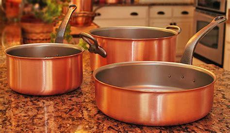 falk copper chefs set  belgium copper chef kitchen gadgets copper