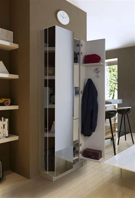 mobile guardaroba ingresso armadio a specchio sui tre lati disponibile con scarpiera