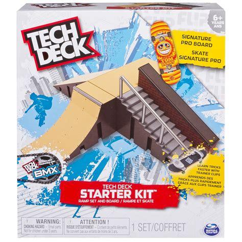 tech deck bmx bikes tricks tech deck starter kit r set and board