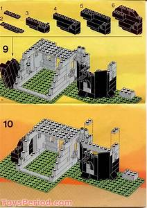 Lego 6066 Camouflaged Outpost Set Parts Inventory And