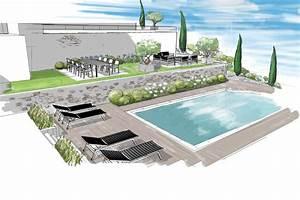 Dessin De Piscine : piscine coque polyester et bton pacte piscines ~ Melissatoandfro.com Idées de Décoration