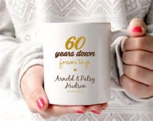 60th wedding anniversary gift ideas 60th anniversary etsy