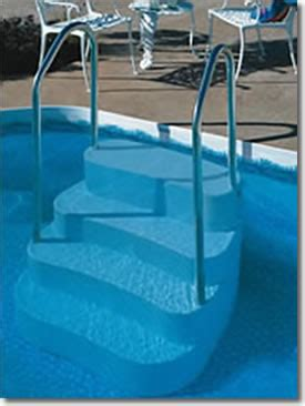 pool steps ladders deck best buy pool supply