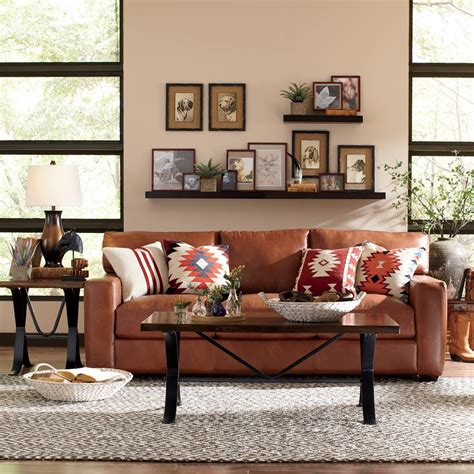 lively  inspiring rustic living room decorating