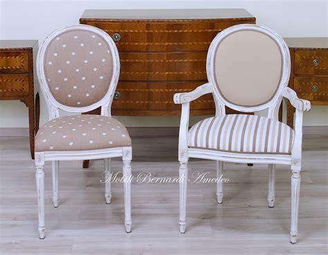 sedia luigi xvi sedie in stile 14 sedie poltroncine divanetti