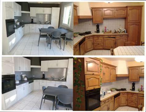 repeindre sa cuisine en blanc repeindre sa cuisine en blanc cuisine rustique apres relooking with repeindre sa cuisine en