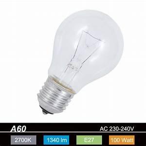 Energiesparlampen E27 100w : gl hlampe classic e27 100w klar a60 1x 100 watt 100 watt lumen wohnlicht ~ Pilothousefishingboats.com Haus und Dekorationen