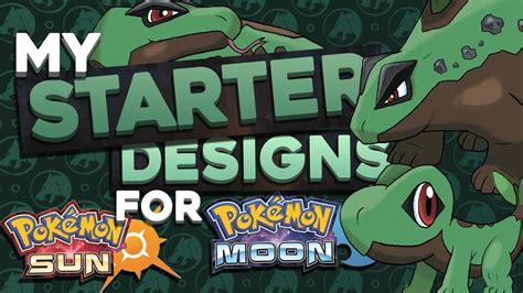 Starter Concept Designs For Pokemon Sun And Moon