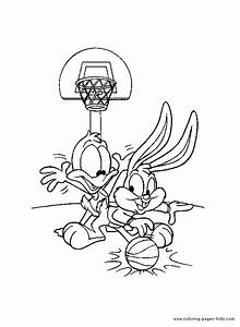 Free coloring pages of baby cartoon character