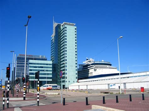Amsterdam cruise ship terminal