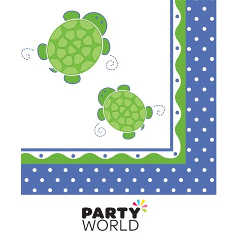 Turtle Decorations Nz by Mr Turtle Luncheon Napkins 16