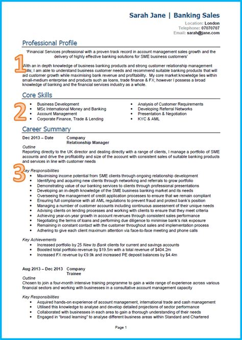 Cv Format Uk by Cv Format In Uk How To Write A Cv Tips For 2019 With