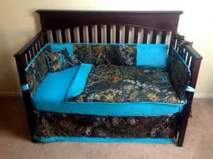 mossy oak turquoise baby bedding by itburnsbaby on etsy