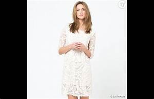 robe en dentelle softgrey sur la redoute soldee 27eur With la redoute robe dentelle