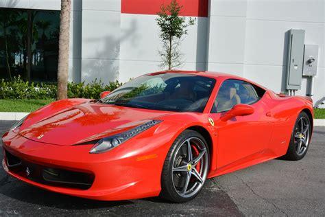 Used 458 Italia used 2011 458 italia for sale 166 900 marino