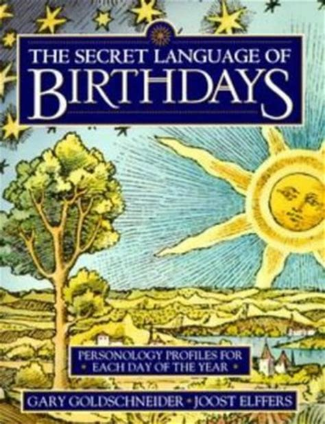 secret language  birthdays personology profiles   day   year  gary