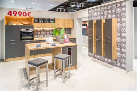 showroom cuisine le showroom du magasin cuisine plus le havre gonfreville