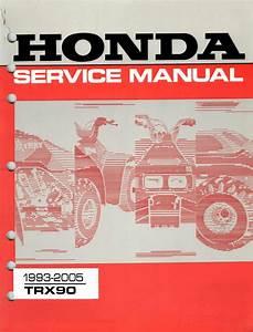 1993-2005 Honda Trx90 Service Manual
