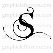 Pics Photos Calligraphy Black Letter Monogram S Heraclitean Fire FSotW Letter S Alphabet Letter S Vector Clip Art Black Letter S Pictures To Pin On Pinterest