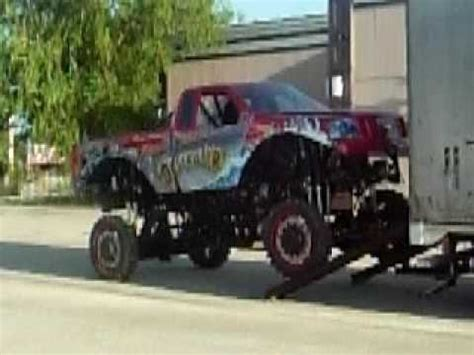funny monster truck videos funny monster truck on donuts youtube