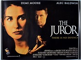 THE JUROR (1996) Cinema Quad Movie Poster - Demi Moore ...